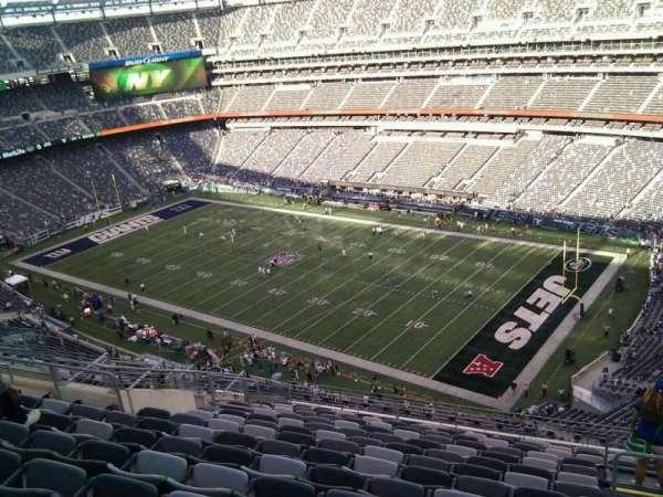 MetLife Stadium, secção: 333, fila: 18, lugar: 5