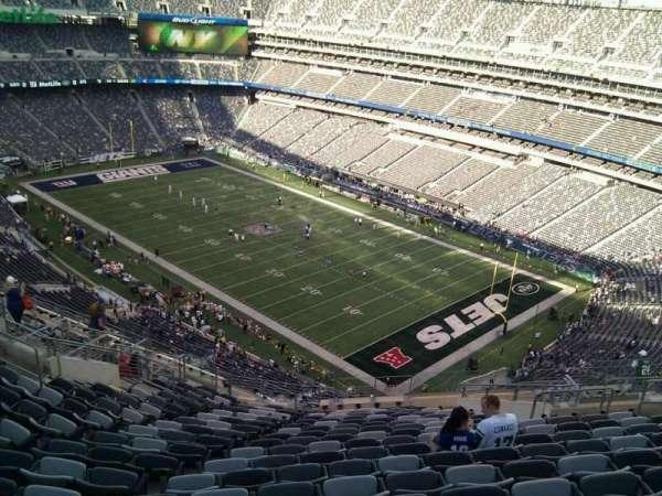 MetLife Stadium, secção: 332, fila: 21, lugar: 13