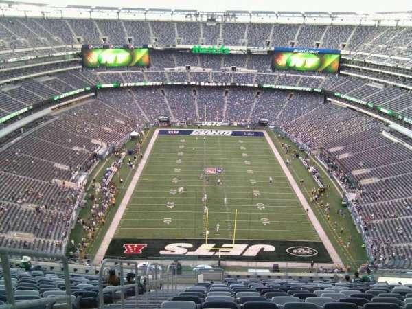 Metlife Stadium, secção: 326, fila: 24, lugar: 19