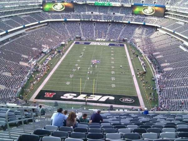 MetLife Stadium, secção: 325, fila: 21, lugar: 25
