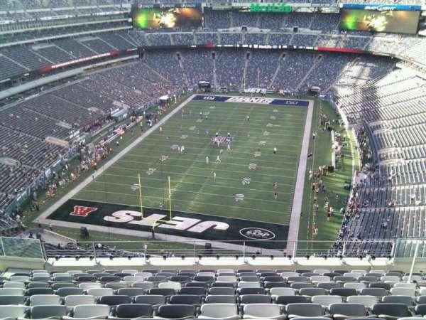 MetLife Stadium, secção: 324, fila: 16, lugar: 13