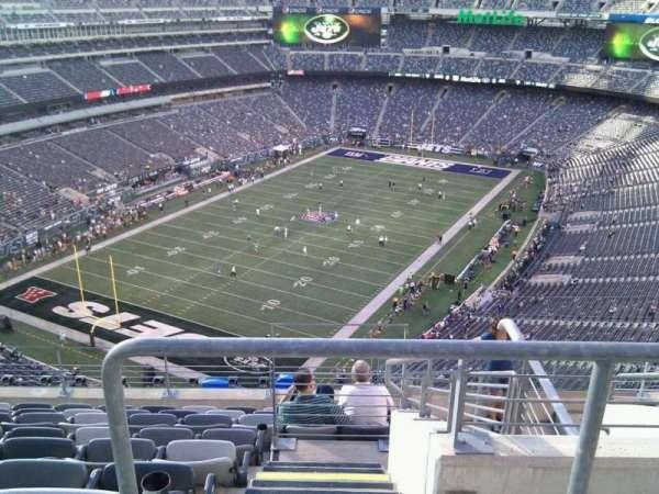 MetLife Stadium, secção: 322, fila: 14, lugar: 4