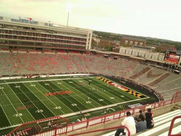Maryland Stadium, secção: 302, fila: o, lugar: 19