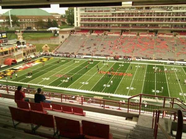 Maryland Stadium, secção: 207, fila: s, lugar: 25