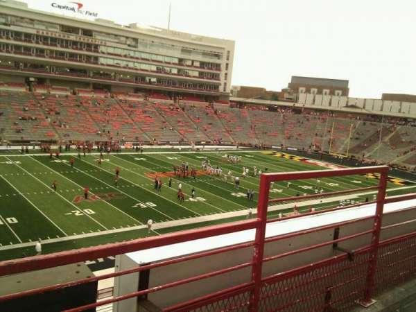 Maryland Stadium, secção: 202, fila: b, lugar: 21