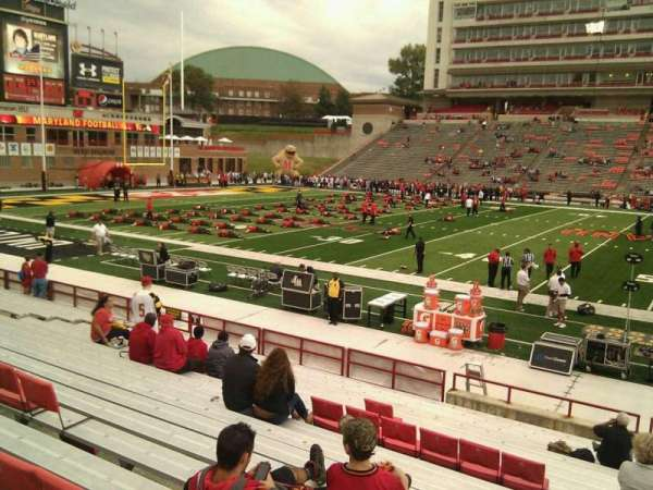 Maryland Stadium, secção: 5, fila: t, lugar: 29