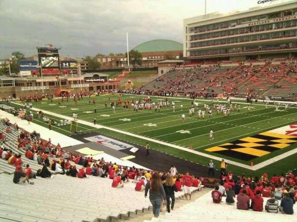 Maryland Stadium, secção: 11, fila: mm, lugar: 7