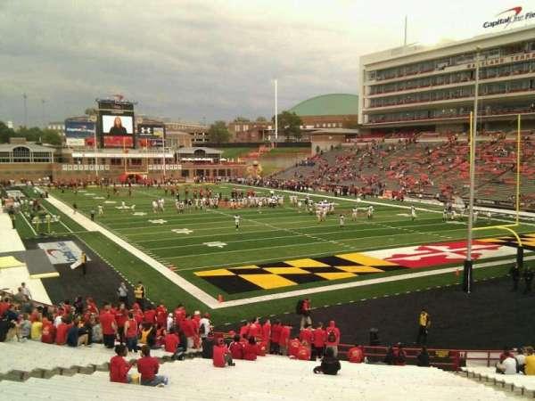 Maryland Stadium, secção: 12, fila: ff, lugar: 17