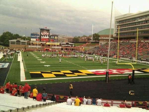 Maryland Stadium, secção: 13, fila: y, lugar: 9
