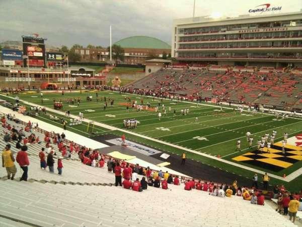 Maryland Stadium, secção: 10, fila: ss, lugar: 24
