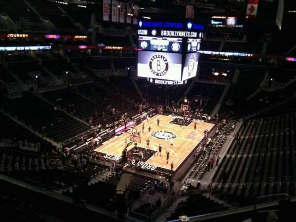 Barclays Center, secção: 230, fila: 7, lugar: 8