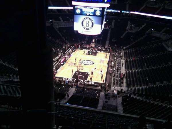 Barclays Center, secção: 231, fila: 12, lugar: 6