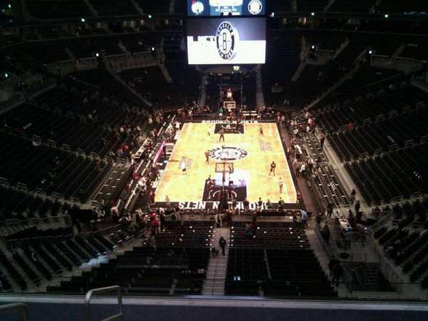 Barclays Center, secção: 231, fila: 6, lugar: 25