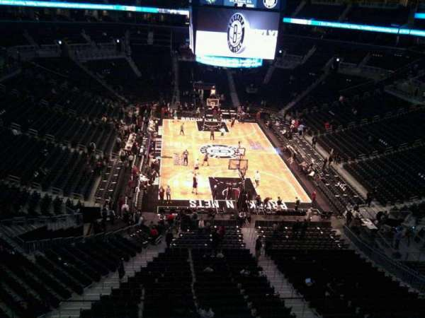 Barclays Center, secção: 201, fila: 3, lugar: 14