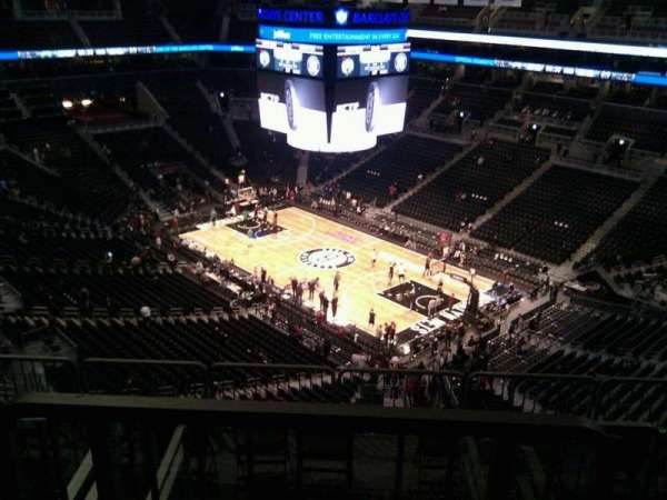 Barclays Center, secção: 204, fila: 13, lugar: 12