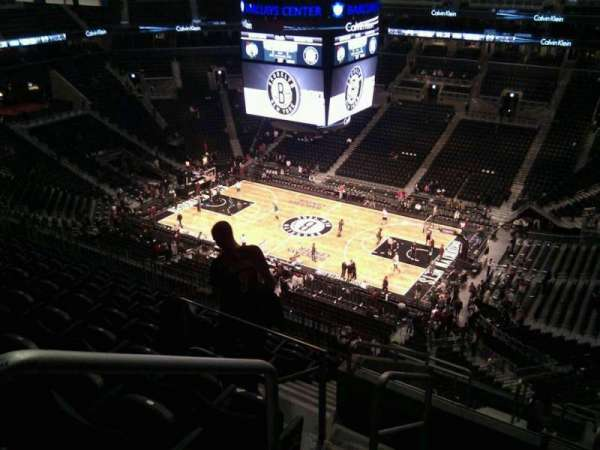 Barclays Center, secção: 205, fila: 11, lugar: 18