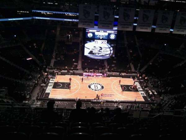 Barclays Center, secção: 225, fila: 17, lugar: 10