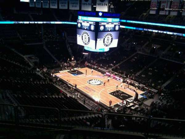 Barclays Center, secção: 220, fila: 12, lugar: 6
