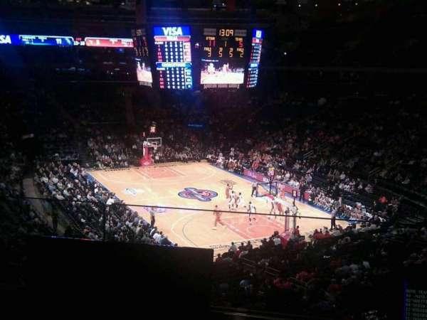 Madison Square Garden, secção: 202, fila: 2, lugar: 7