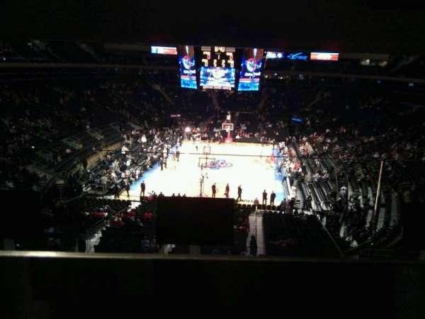 Madison Square Garden, secção: 204, fila: bar rail, lugar: 20