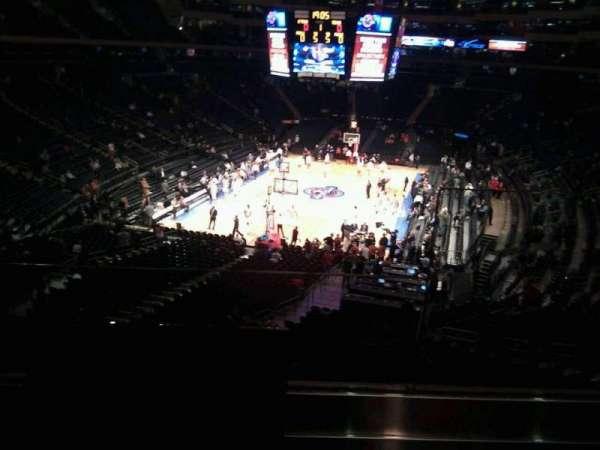 Madison Square Garden, secção: 218, fila: 2, lugar: 22