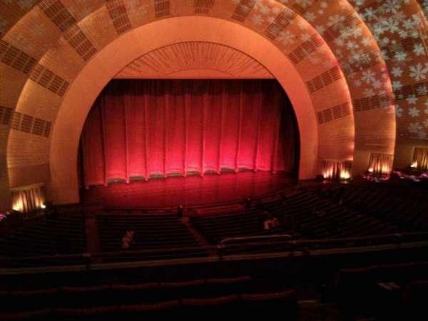 Radio City Music Hall, secção: 2nd mezzanine 6, fila: f, lugar: 604