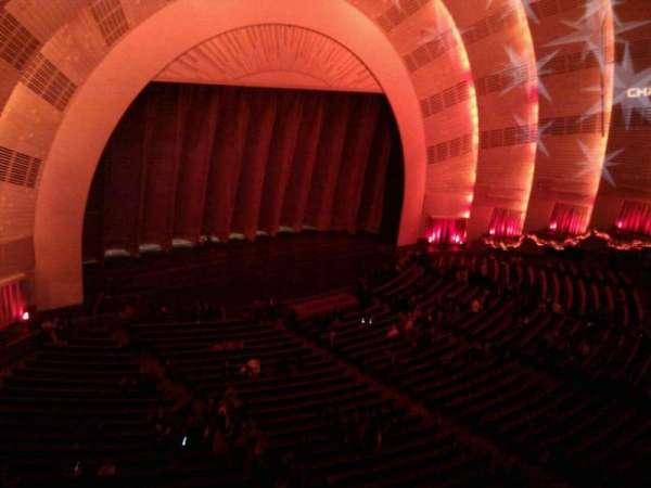 Radio City Music Hall, secção: 3rd mezzanine 7, fila: aa, lugar: 709