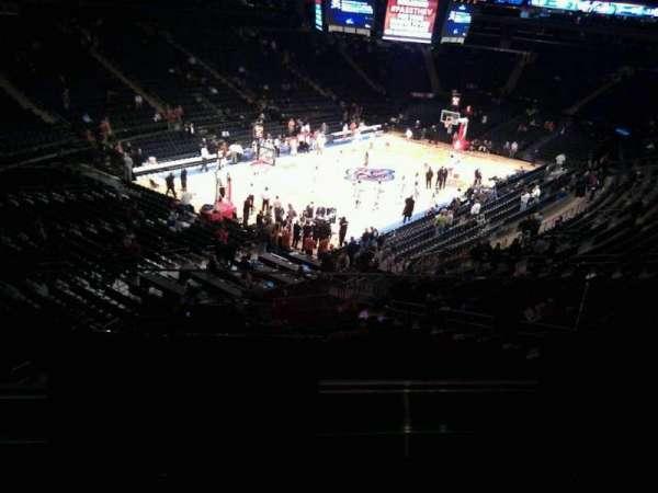 Madison Square Garden, secção: 220, fila: 2, lugar: 8