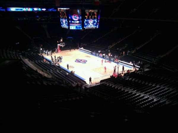 Madison Square Garden, secção: 201, fila: 6, lugar: 15