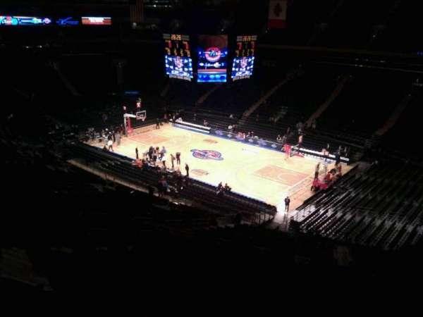 Madison Square Garden, secção: 227, fila: 11, lugar: 7