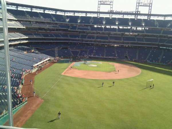 Citizens Bank Park, secção: 303, fila: 1, lugar: 24