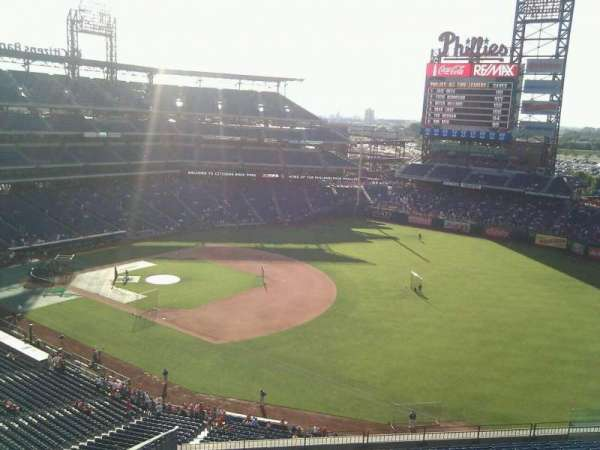 Citizens Bank Park, secção: 310, fila: 15, lugar: 19