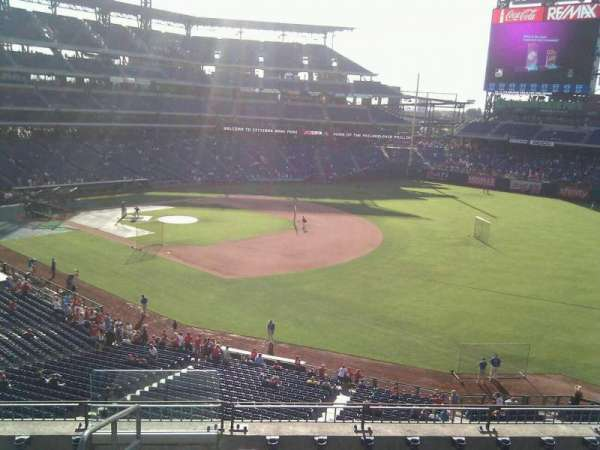 Citizens Bank Park, secção: 209, fila: 7, lugar: 24