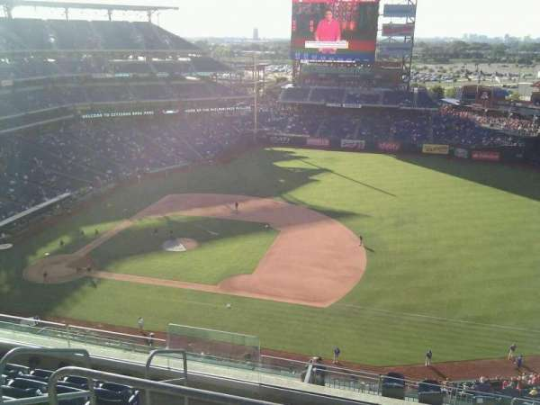 Citizens Bank Park, secção: 413, fila: 7, lugar: 21