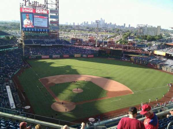 Citizens Bank Park, secção: 419, fila: 9, lugar: 4