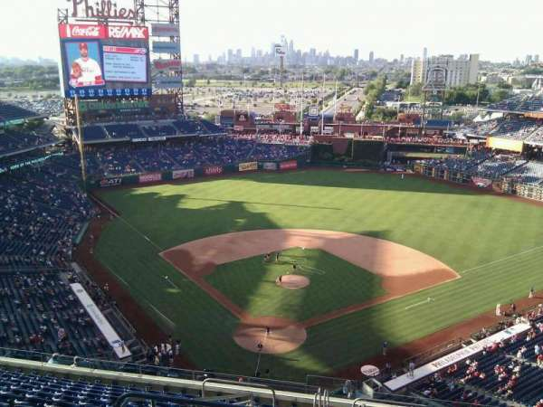 Citizens Bank Park, secção: 419, fila: 14, lugar: 31