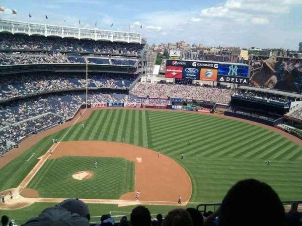Yankee Stadium, secção: 416, fila: 10, lugar: 9