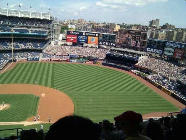 Yankee Stadium, secção: 415, fila: 12, lugar: 21