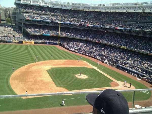 Yankee Stadium, secção: 326, fila: 2, lugar: 9