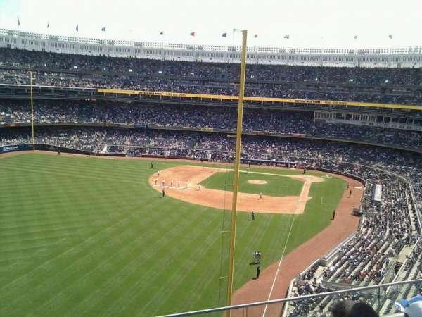 Yankee Stadium, secção: 332, fila: 3, lugar: 19