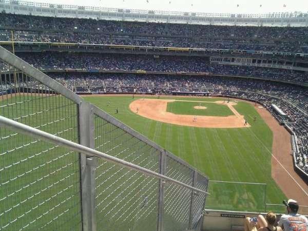 Yankee Stadium, secção: 334, fila: 7, lugar: 34
