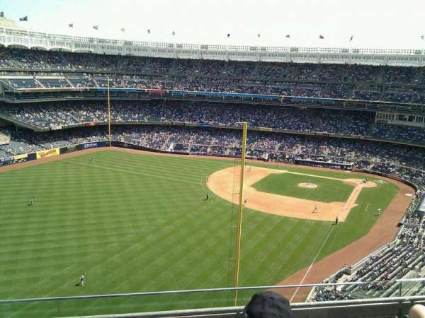 Yankee Stadium, secção: 432b, fila: 4, lugar: 12