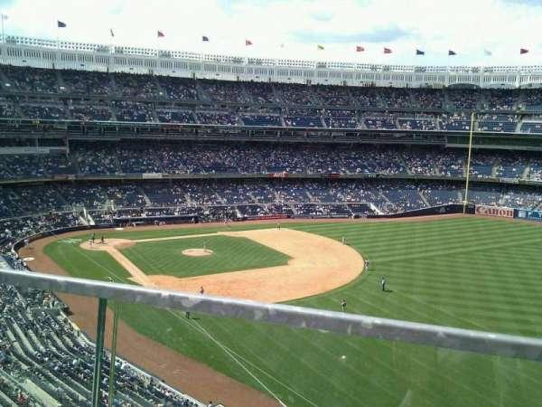 Yankee Stadium, secção: 309, fila: 1, lugar: 9