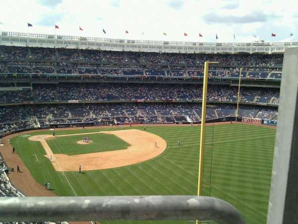 Yankee Stadium, secção: 308, fila: 8, lugar: 1