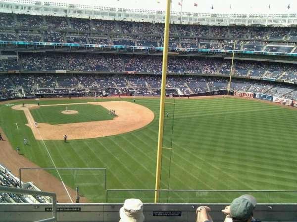 Yankee Stadium, secção: 307, fila: 5, lugar: 22