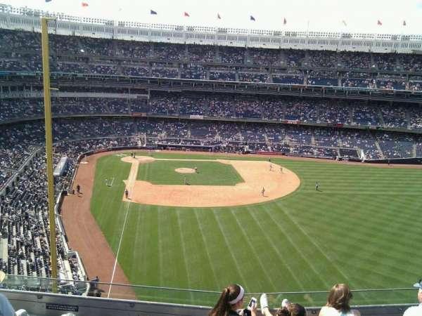 Yankee Stadium, secção: 306, fila: 6, lugar: 21