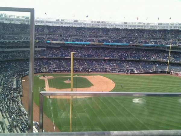 Yankee Stadium, secção: 406, fila: 1, lugar: 20