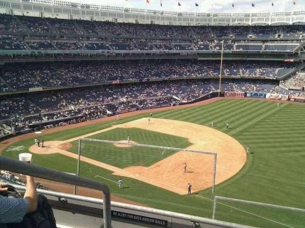Yankee Stadium, secção: 312, fila: 3, lugar: 24