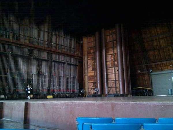 The Mann, secção: pit, fila: dd, lugar: 8