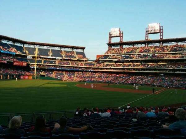 Citizens Bank Park, secção: 139, fila: 25, lugar: 8